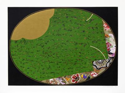Temari verde - 71/100 - Kazuo Wakabayashi