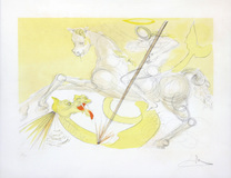 St. George and the Dragon - 121/250 - Salvador Dali