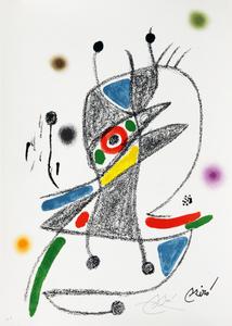 Maravillas con variaciones acrósticas en el jardin de Joan Miró, mod. 2 - Joan Miró