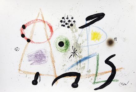 Maravillas con variaciones acrósticas en el jardin de Joan Miró, mod. 3 - Joan Miró