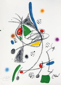 Maravillas con variaciones acrósticas en el jardin de Joan Miró, mod. 4 - Joan Miró