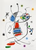 Maravillas con variaciones acrósticas en el jardin de Joan Miró, mod. 8 - Joan Miró