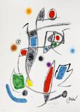 Maravillas con variaciones acrósticas en el jardin de Joan Miró, mod. 10 - Joan Miró