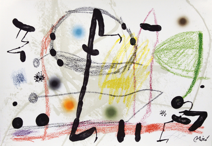 Maravillas con variaciones acrósticas en el jardin de Joan Miró, mod. 13 - Joan Miró