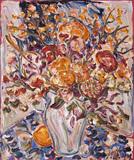 Composição com flores - Sou Kit Gom