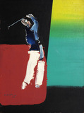 Golfista - Manabu Mabe