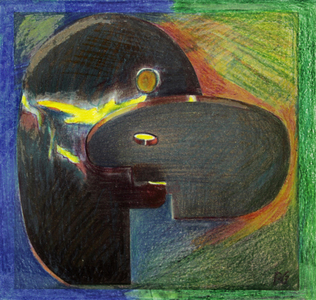 O beijo - Rubens Gerchman
