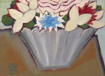 Vaso com flores - Chen Kong Fang