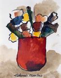 Vaso com flores - Aldemir Martins