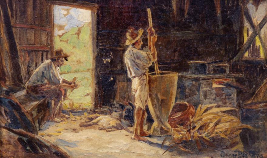 Pilando-milho-oscar-pereira-da-silva