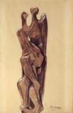 Torsos - Estudo para escultura - Bruno Giorgi