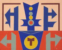 Emblema 89 - Rubem Valentim