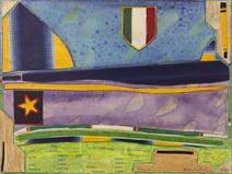 Bandeira - Leda Catunda