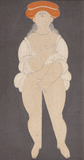 Vênus com chapéu - Milton Dacosta