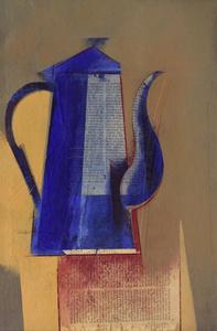 Bule azul - Carlos Scliar