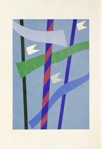 Mastros e bandeirinhas - 48/150 - Alfredo Volpi