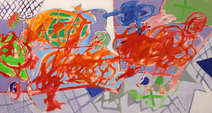 A pintura e a domingueira - Luiz Aquila