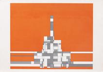 Composição geométrica - P.I. - Milton Dacosta