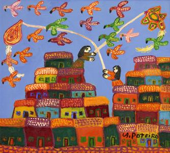 Favela - Antonio Poteiro