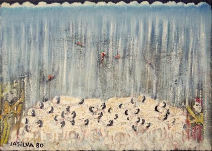 Ovelhas na chuva - José Antonio da Silva