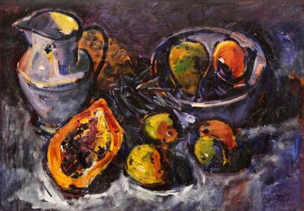 Frutas e cerâmica - Sergio Telles