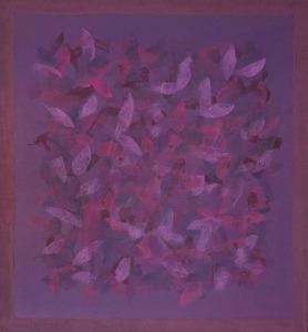 Série campo de cor roxo - Amelia Toledo