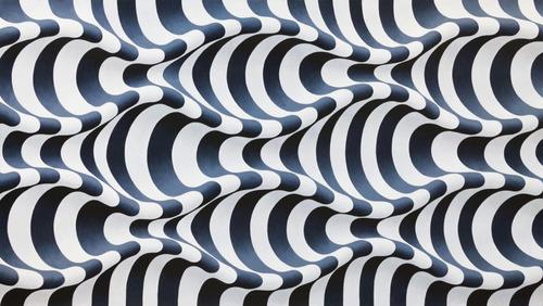 Ondulações preta e branca - Yuli Geszti