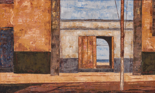 Os muros, a porta e o mar - José Paulo Moreira da Fonseca
