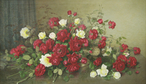 Rosas vermelhas e amarelas - Shokichi Takaki