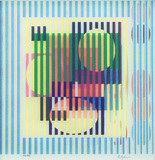 Withinyellow space 44/99 - Yaacov Agam