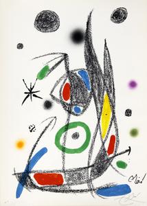 Maravillas con variaciones acrósticas en el jardin de Joan Miró, mod. 14 - Joan Miró