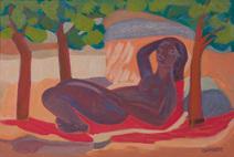 Descanso sob as árvores - Gryner, Rachmyl Mendel