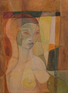 Figura feminina - Harry Elsas
