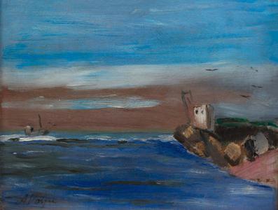 Canal de Itanhaem - Praia dos pescadores - Alfredo Volpi