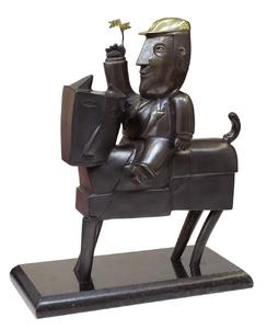 Cavalinho de pau - P.A. - Inos Corradin