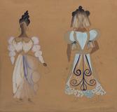 Croqui de vestidos - Di Cavalcanti, Emiliano