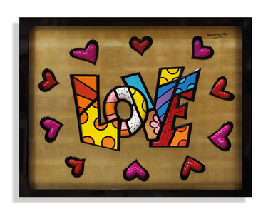 Love almays circle love wr - 39/60 - Romero Britto