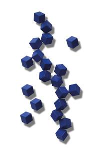 Cubos azuis - Cássio Lázaro