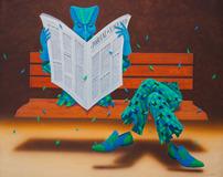 O leitor - Claudio Souza Pinto