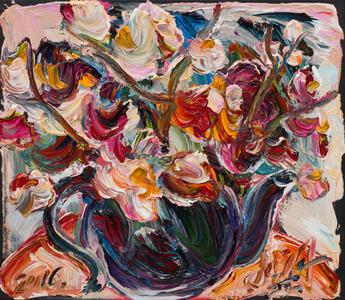 Bule com flores - Sou Kit Gom