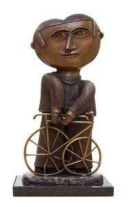 Menino com bicicleta  - Inos Corradin
