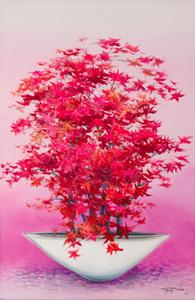 Vaso com flores - Yugo Mabe