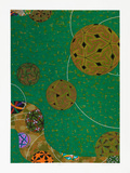Temari verde - P.A. - Kazuo Wakabayashi