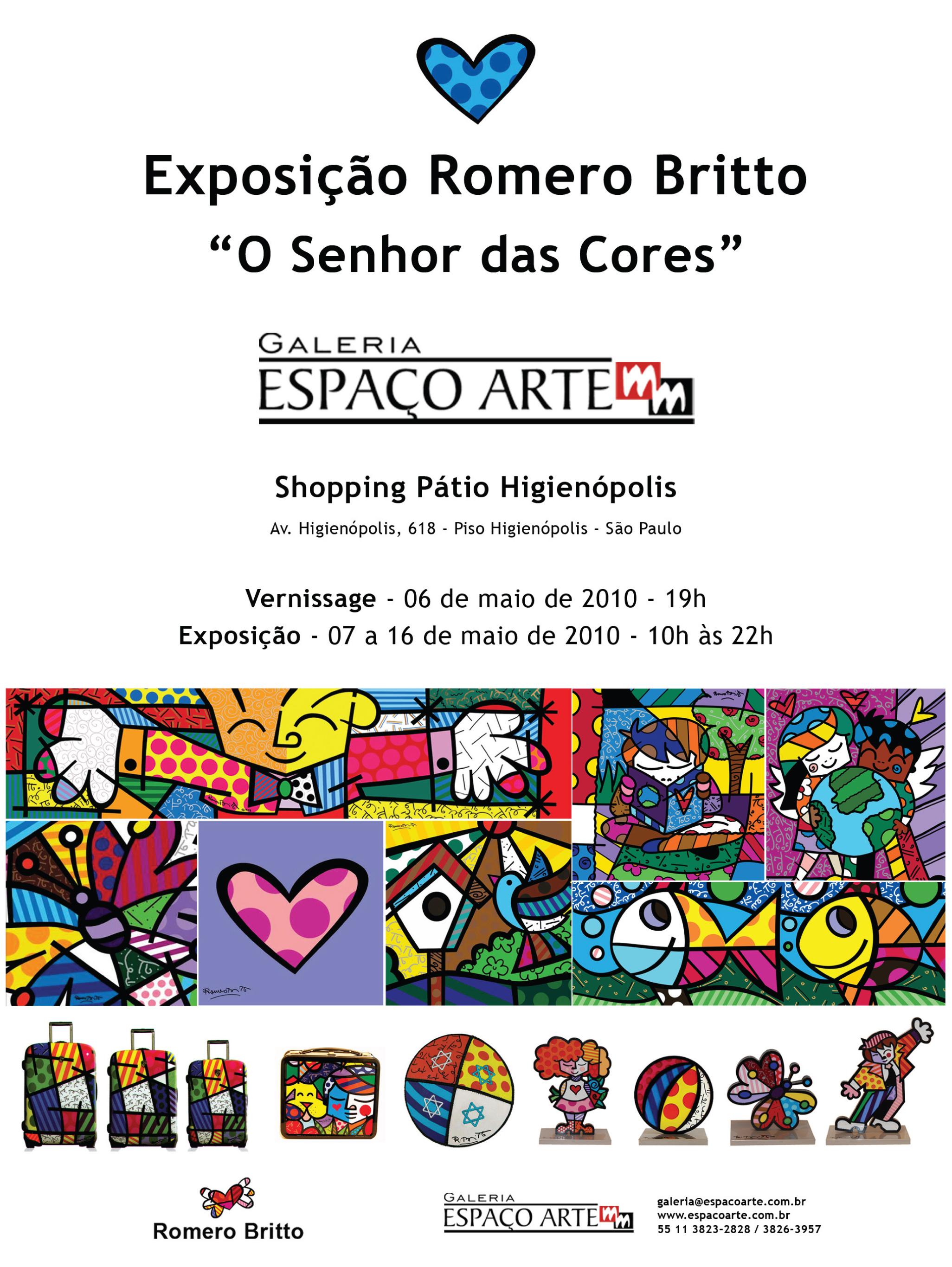 Exposição Romero Britto - O Senhor das Cores