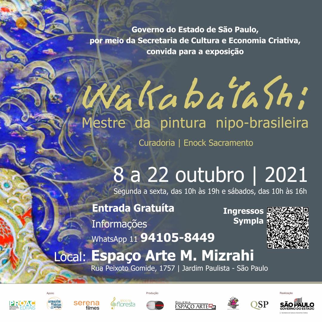 Wakabayashi - mestre da pintura nipo-brasileira