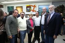 Cássio Lázaro, Inos, convidada, Mayer, Jacques e Jorge Eduar