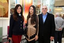 Cynthia Ebaid e família