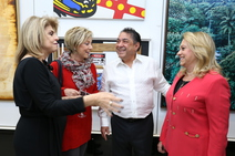 Miriam Schreier, Sima Woiler, Mayer e Denise