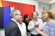 Dr. Nelson Nery Jr., Mayer, Claudio Tozzi e convidada