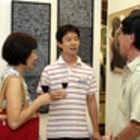 Eri Fukushima, sobrinho e Takashi Fukushima